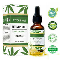 1000mg Organic Seed Oil for Pain Stress Reduce Relief Sleep Aid Joint Support
