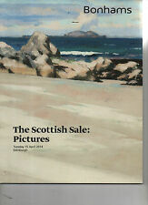 THE SCOTTISH SALE, PICTURES,  AUCTION CATALOGUE.2014,