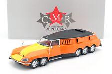 Citroen DS Plr Pause Michelin Mille Pattes 1972 Orange / Jaune/Noir 1:18 CMR