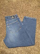 Mens Levi's SilverTab Baggy Jeans 38x30 med Blue EUC 100% Cotton