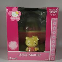 2005 NEW Sanrio HELLO KITTY Juicer Juice Maker Machine real appliance NOT A TOY