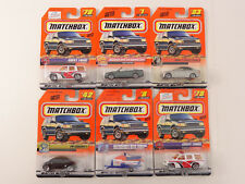 Matchbox Die Cast Lot of 6 Cars Watercraft VW Blazer BMW Tahoe Mercedes All New