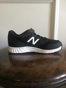 New Balance 455 Boys Tennis Shoes Black Size 3 New. NO BOX!!!