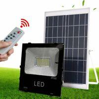 Waterproof Solar Panel Powered LED Spot Light Lamp Outdoor Yard Lawn 10W