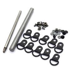 Metal Rivet D Ring Lace Eye Boot Hiking Shoes Repair Kit + 1set hand held tool