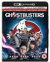 Ghostbusters 2-Disc 4K Ultra HD and Blu-ray [2016] [Region Free] [DVD]