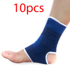 5 Pairs Ankle Arch Brace Support Elastic Wrap Foot Pain Basketball Gym Protector