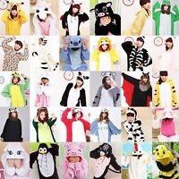HOT Kigurumi Pajamas Anime Cosplay Costume unisex Adult Onesie Dress S-XL