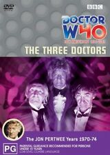 The Doctor Who - Three Doctors (DVD, 2003)