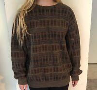 Vintage Long Sleeve Sweatshirt Size Large