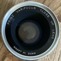 Camera Lens Prinz Varifocus Close Up Lens 55mm Japan Made