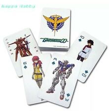GE Animation MS Gundam 00  Playing Cards AUTHENTIC LICENSED BRAND NEW