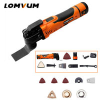 LOMVUM Electric Cordless Cutter Trimmer Oscillating Kitchen Multi Tools 6 Speed