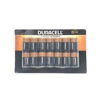 Alkaline Duracell D Batteries 14 Pack New Open Box 1.5V LR20 Unused/Exp Mar 2029