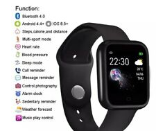 Smart/Fitness Watch Andriod+IOS.Unisex. All fitness tracked+HR+BP+Music+Messages