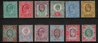 Great Britain Stamp Set Scott #127 to 138 (127-38), Mint Hinged, Definitives