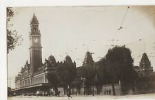 Brasil Estacau de Sao Paulo Railway Station Real Photo Postcard, B208