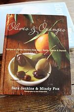 Olives & Oranges cookbook hardcover recipes from Italy Spain Cyprus