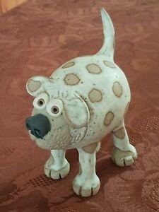 Muggins Pottery Standing Dog Free UK P&P