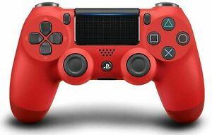 Wireless Red Dualshock controller for Playstation PS4