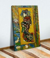 Van Gogh Japanese Oiran CANVAS WALL ART PRINT ARTWORK PAINTING FRAMED POSTER