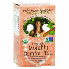 Earth Mama Angel Monthly Comfort Tea Box of 16 Teabags For Menstruating Mother