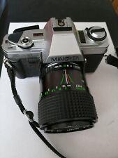 Minolta X-300 SLR Camera 35mm Film Camera with Centon Lens 28-70mm