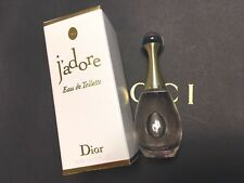 DIOR J'adore Eau de Toilette EDT DELUXE MINI SAMPLE Travel 5ml, 0.17 FL OZ NIB