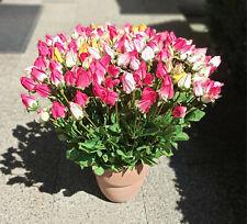 Rosen, Kunstblumen, Textilblumen, Dekoblumen, künstliche Blumen, 160 Stück
