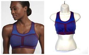 Women's Nike FE/NOM Flyknit High Support Sports Bra - Size S