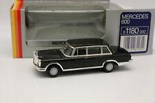 Gama 1/43 - Mercedes 600 Negra