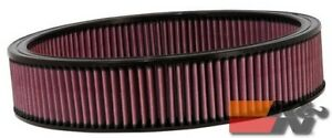 K&N Replacement Air Filter For GM CARS & TRUCKS  V8  1966-84 E-1650