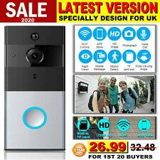 WiFi Smart Doorbell Camera Video Wireless Remote Door Bell CCTV Chime Phone APP