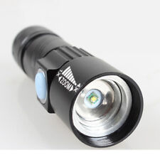 800 Lumen Mini USB Rechargeable Pocket Torch CREE Q5 LED 3 Modes Bright Compact