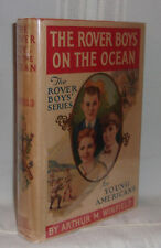 Arthur M. Winfield THE ROVER BOYS ON THE OCEAN Second Book in Series Fine in dj