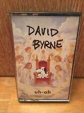 David Byrne: Uh-Oh Audio Cassette Tape Talking Heads