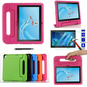 New Kids EVA Foam Handle ShockProof Case Cover Stand For Lenovo TAB P10 /M10/E10
