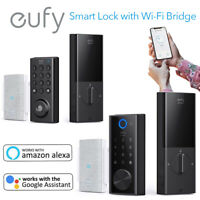 eufyeufy Security Smart Lock Electronic Keyless Entry Door Lock W/ Wi-Fi Bridge