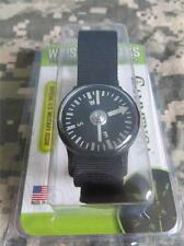 NEW - CAMMENGA PHOSPHORESCENT WRIST COMPASS - BLACK - TACTICAL STRAP - JULY 2017