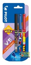 Pilot V5 Mika Limited Edition Rollerball Pens Assorted Blister of 3