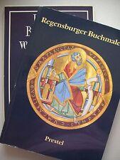 2 Bücher Regensburger Buchmalerei  + Deutsche ... vorgotischer Zeit