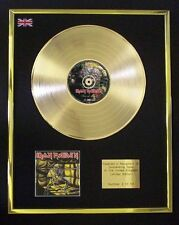 IRON MAIDEN PIECE OF MIND CD GOLD DISC LP FREE P+P!