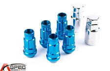 New Varrstoen VT48 12x1.5 Blue Lug Locks (5 PC/2Keys) Fits Mitsubishi Acura BMW