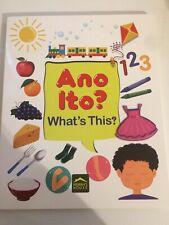 """99 Tagalog Words """"Ano Ito?� Tagalog vocabulary Board Book"""