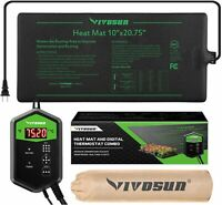 VIVOSUN with Thermostat Controlle Seedling Heat Mat Seed Germination Pad Mat