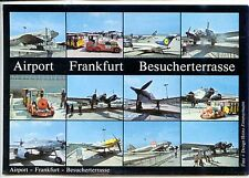 CP Allemagne Deutchland - Airport Frankfurt Besucherterrasse - Aviation