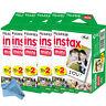 100 Prints Fujifilm instax Mini Instant Film + Cloth for 8, 9, 11, 25s, 90, SP-1
