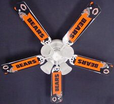 New NFL CHICAGO BEARS FOOTBALL Ceiling Fan 52""