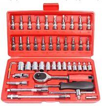 46 pcs Spanner Socket Set Ratchet Wrench Set Repair Tool(Buy 1 Get 1 Freebie)