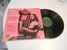 songs of the auvergne lp susan reed columbia m.w. ml 54368